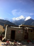 Morning market in Jomsom
