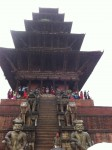 Temple in historic area of Kathmandu