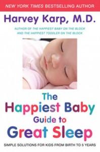 Harvey Karp Guide to Great Sleep book