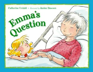 talking to children about death book titled Emma's Question