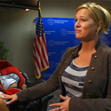 child passenger safety guest Heather Darby
