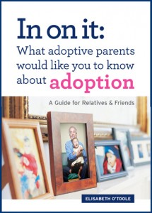 support for adoptive parents guest Elisabeth O'Toole's book