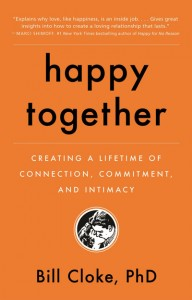 Haappy together guest Dr. Bill Cloke book
