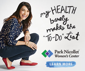 Park Nicollet Women's Center ad