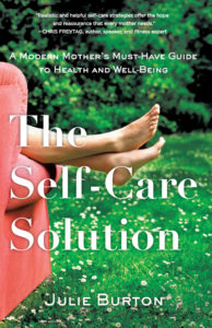 book image for ME's fitting in self-care guest, Julie Burton
