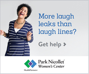 ad for Park Nicollet Women's Center