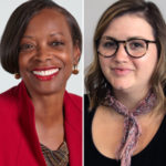 photo of ME's cultural competence guests, Carolyn Smallwood & Ashley Saupp