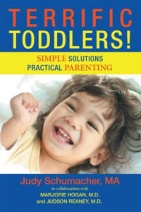 book image for ME's Terrific Toddlers! guest, Judy Schumacher