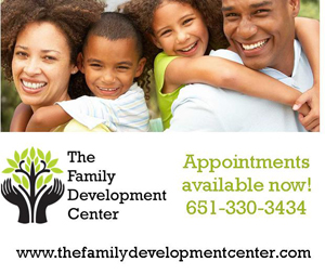 ad for The Family Development Center
